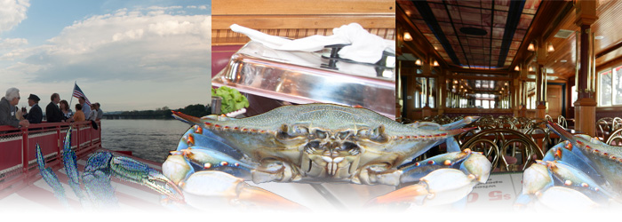 Blue Crab Feast | The Pride of the Susquehanna Riverboat